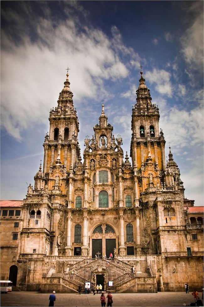 Santiago de Compostela Cathedral in Spain tourism destinations