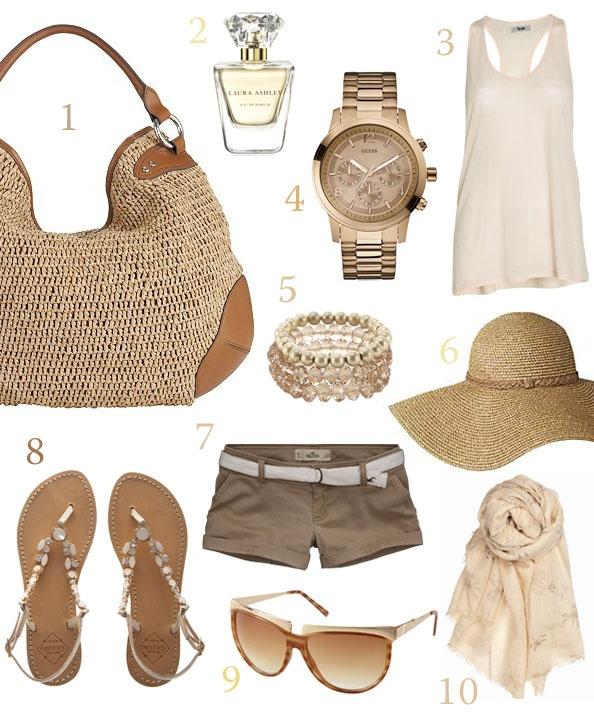 beige travel essential