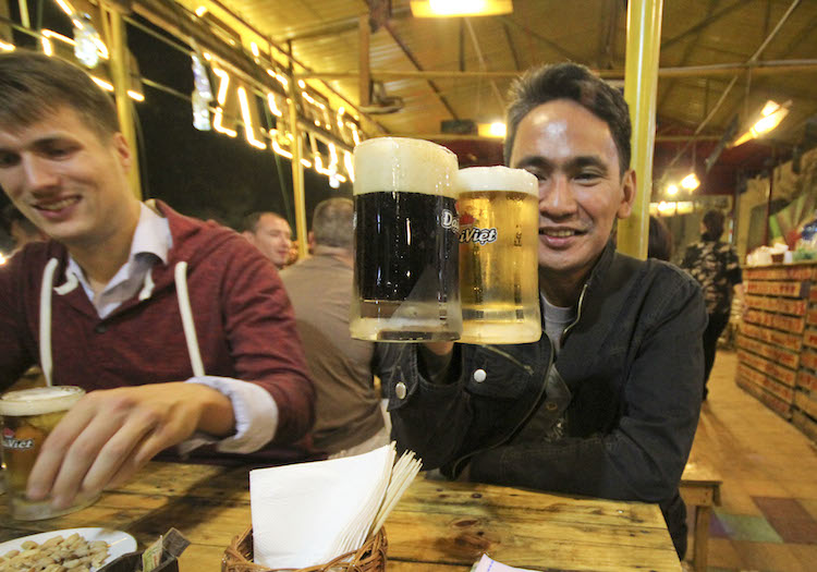 Hanoi Top 10 beer tour pinaytraveller