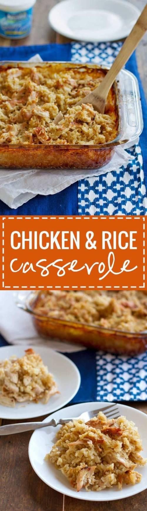 Medium Of Campbells Chicken And Rice Casserole