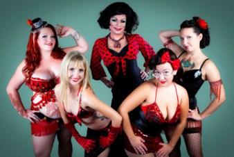 Black Widow Burlesque. Photo: Steve Dement