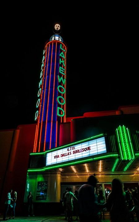 The Lakewood Theater.  Photo: Danny Fulgencio