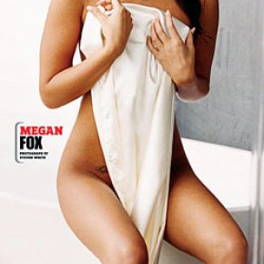 megan fox took her clothes off