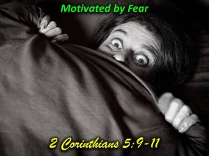 the motivation of fear