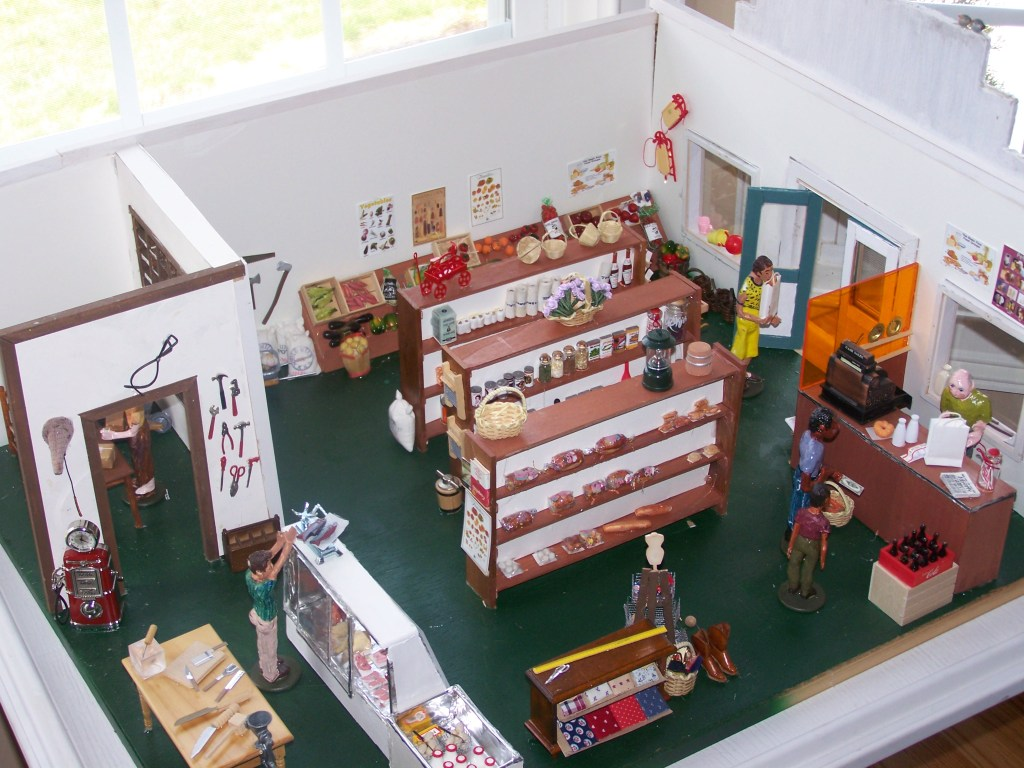 General Store Arial View