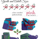 Crochet Youth and Adult Elf Boots Free Pattern