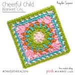 Cheerful Child Crochet Along Kayden Square #9