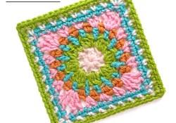 Cheerful Child Crochet Along Kayden Square #9