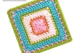 Cheerful Child Crochet Along Addison Square #12