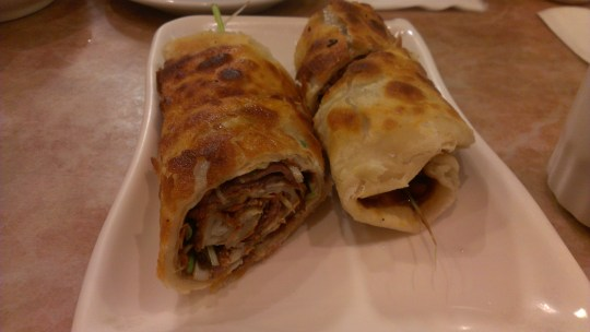 Peaceful Beef Pancake Roll