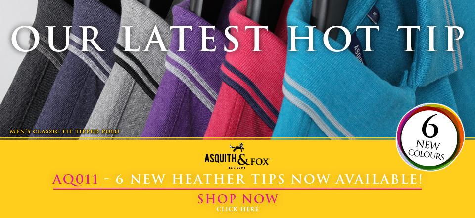 A foxy new polo shirt