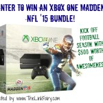 Enter to win an XBOX One Madden NFL '15 Bundle at www.TheLinkFairy.com!