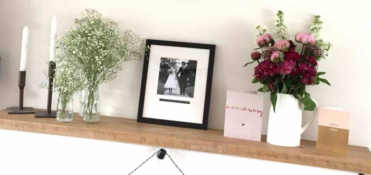 REVIEW: A Personalised Wedding Anniversary Frame