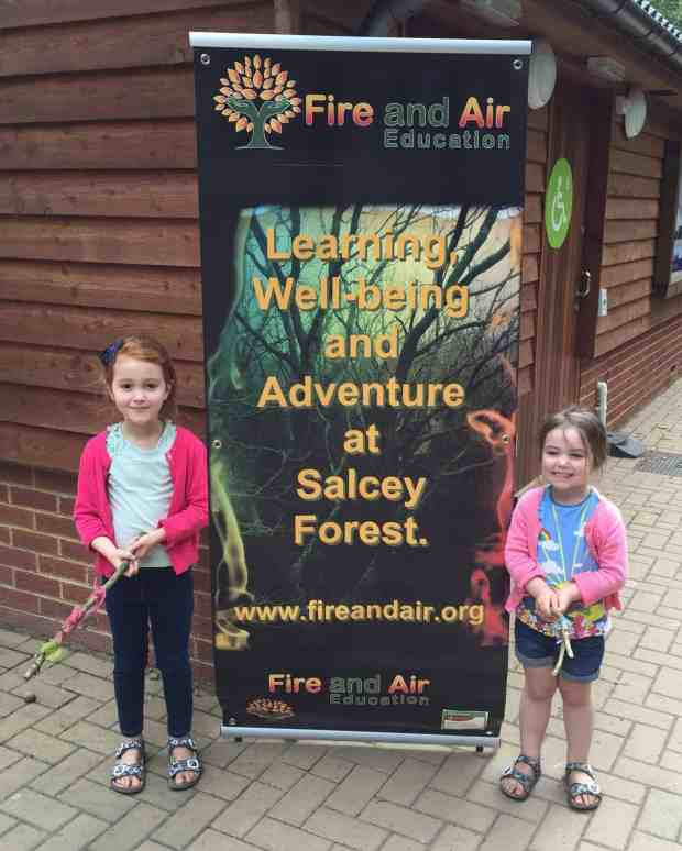 Fire and Air Educaton at Salcey Forest
