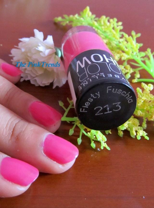 Pink Nail Paint