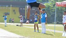 Jerry Belibestre being the best that he can be. Wins the 2014 Palarong Pambansa in Laguna.