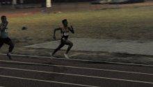 Alvin Castanares wins the PNG Junior 800m title