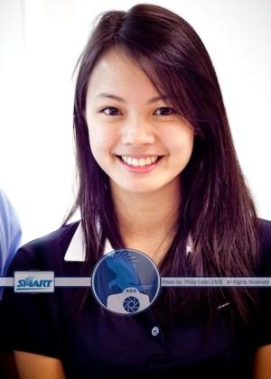 Jessica Mendoza Court Side Reporter from Ateneo