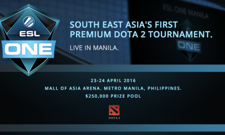 ESL One is coming to Manila!
