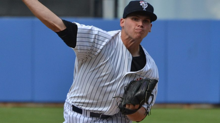 Rookie Davis took the start against the Daytona Tortugas on Satuday. (Robert M Pimpsner)