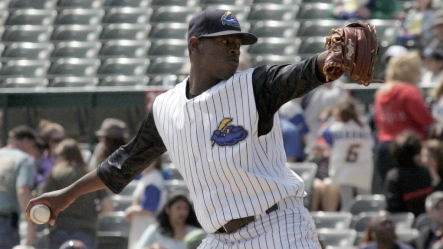 Luis Severino returned to action with five hitless innings Thursday night.  (Jessica Kovalcin)