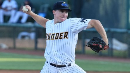 Eric Ruth enhanced his status as much as any  pitcher in the  system in 2015. (Robert M Pimpsner)