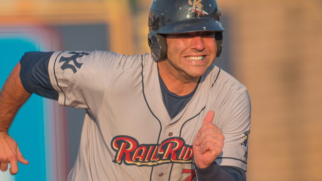 Austin Romine is one of 2 RailRiders in the All-Star Game (Cheryl Pursell)