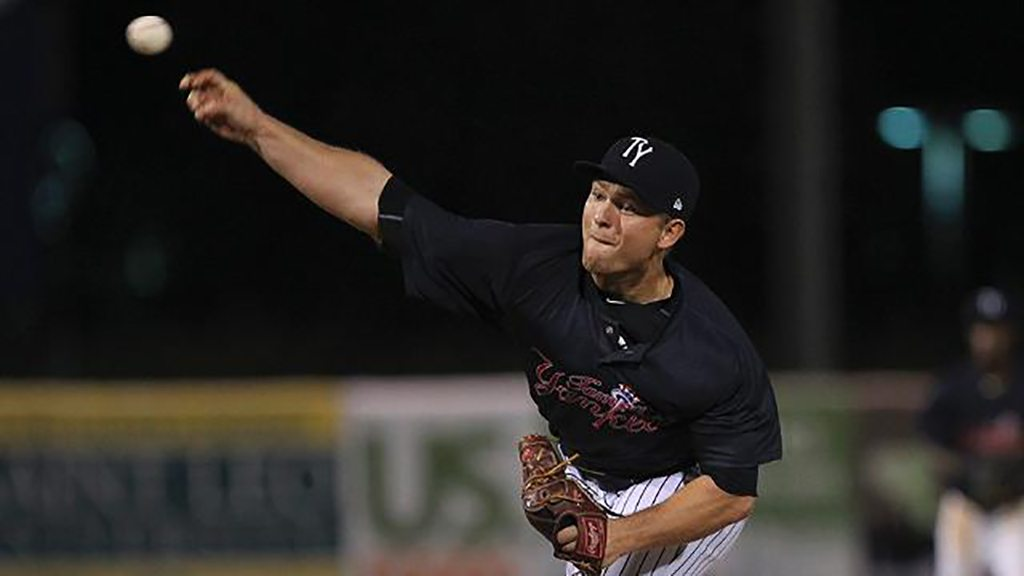 Chance Adams pitched 2.2 innings with six strikeouts. (Mark LoMoglio)