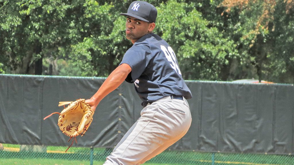 Right-hander Jonathan Padilla allowed just 1 hit over 5 innings the past week for Pulaski (Bryan Green)