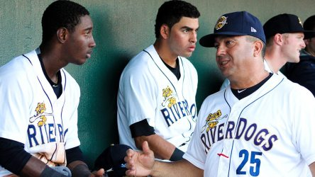 Luis Dorante returns to Charleston for his third consecutive as manager. (Jerry Coli)