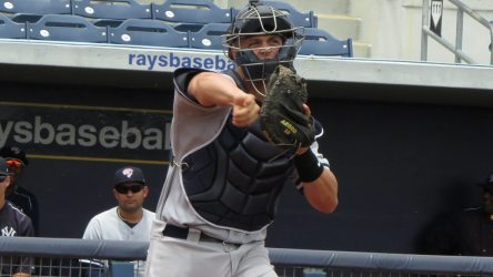 Wes Wilson has embraced a leadership role with the Yankees.  (Bryan Green)