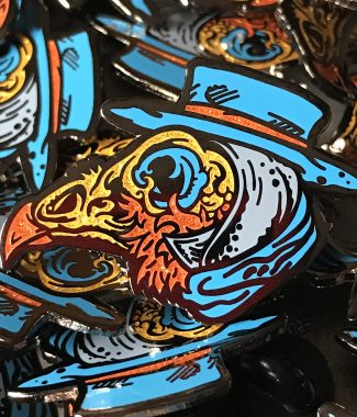 Plague Doctor Pin by Angryblue