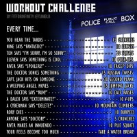 Dr. Who Workout Challenge