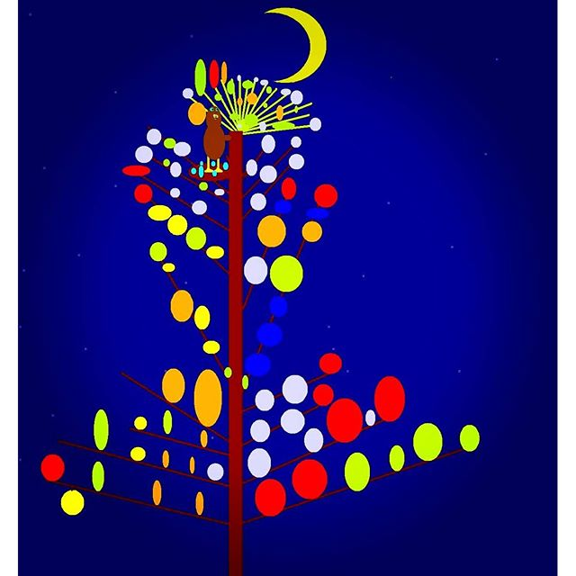 "Computer art made by my daughter, Alexis several years ago.  She labeled this ""Animal What Dance Goodnight"" One of my favorite works done by her. She will be 14 years old this summer and loves creating many different forms of art. She is such a lovely and talented young lady. #TalentedArtist #AutismArt #ComputerArt #Art #SpecialNeeds #SpecialChild"