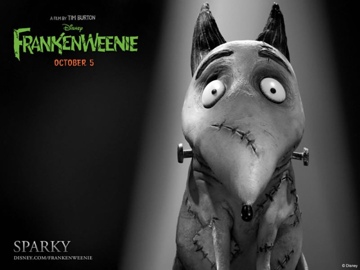 Tim Burtons Frankenweenie IMAX Policy Trailer Warns Moviegoers To Shut the Fuck Up