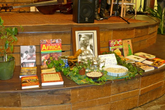 Was honored that Bryant placed my book on the alter here in front of the stage he spoke on.