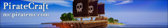 PirateCraft - Pirate themed minecraft server with moving ships and cannons