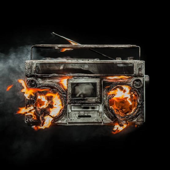 Album cover of 'Revolution Radio' by Green Day