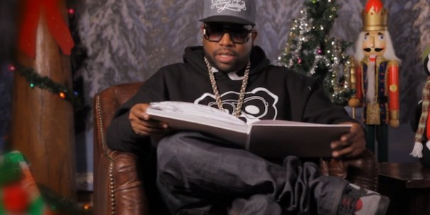 Watch Big Boi Read How the Grinch Stole Christmas