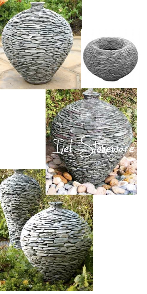 Ivel Stoneware's Stacked Stone Features