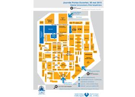 Télécharger le plan des sites de l'Hôpital Pitié Salpêtrière