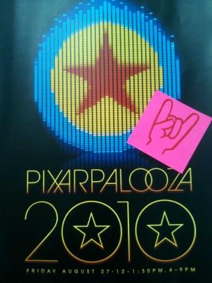 Pixarpalooza Poster
