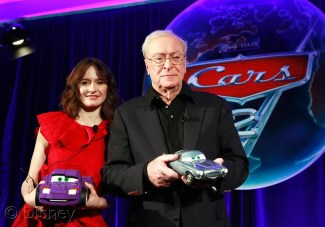 Cars 2 Event - Michael Caine & Emily Mortimer Image 1