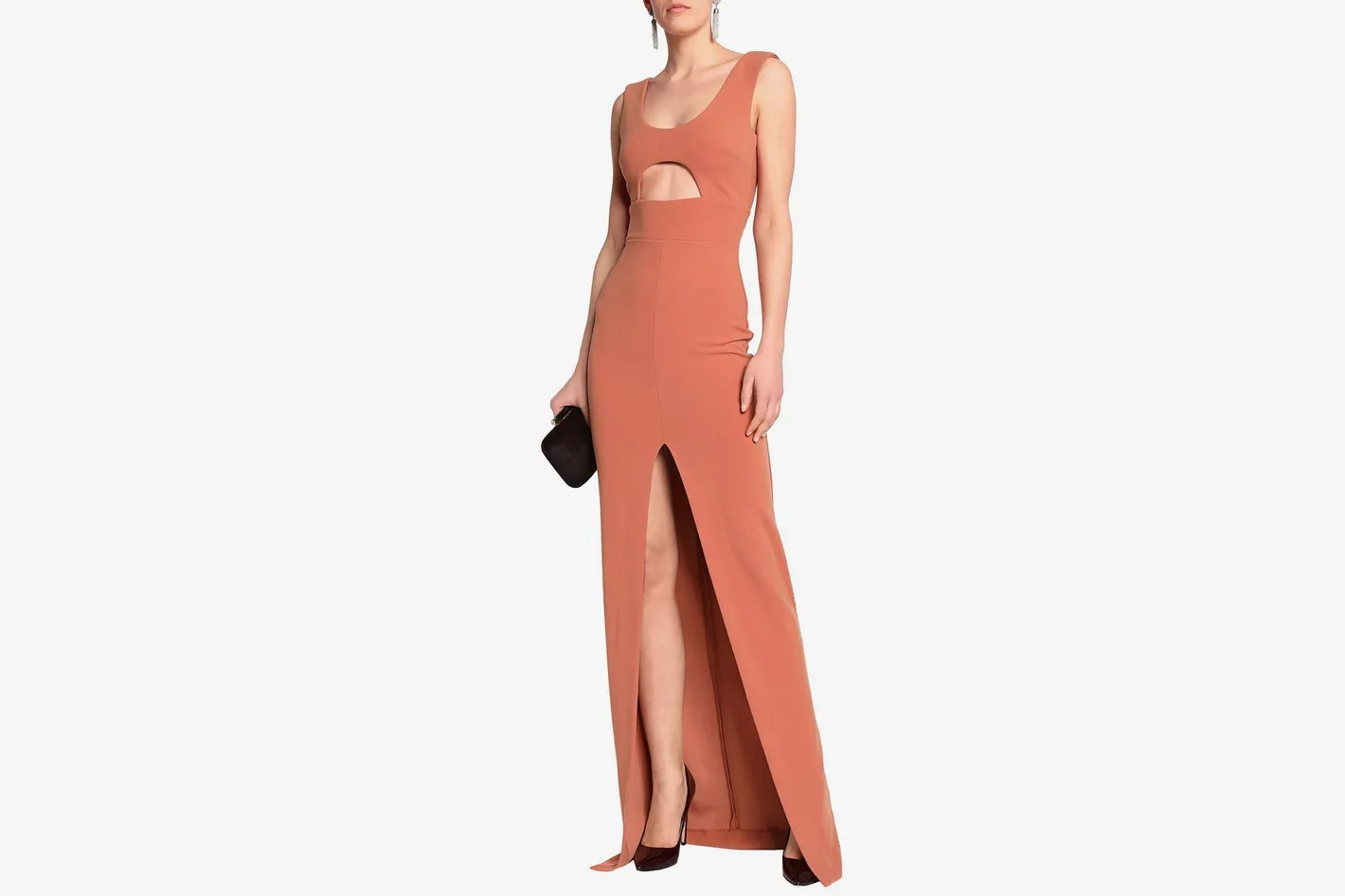 Thrifty Solace London Cutout Crepe Gown Dresses To Wear To A Wedding Under 2018 Black Tie Event Dresses South Africa Black Tie Event Dresses Uk wedding dress Black Tie Event Dresses