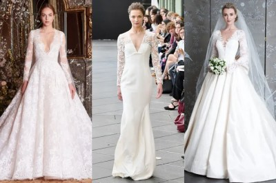 The 5 Wedding Dress Trends for Brides to Know in 2019