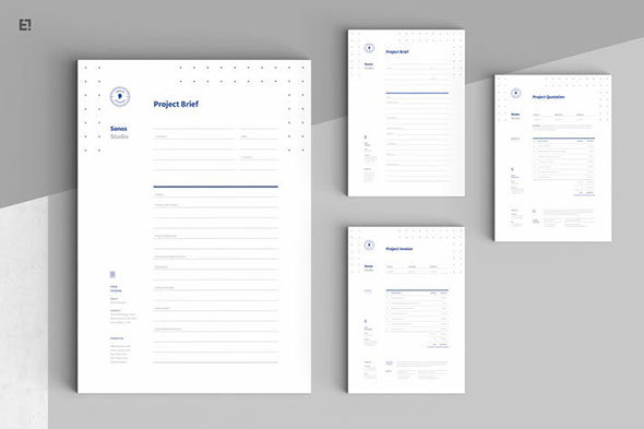 25 Freelance Invoice Templates To Help You Get Paid Faster   Pixel Curse Invoice Estimation Brief