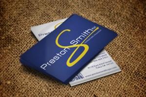 Preston Smith CPA Business Cards