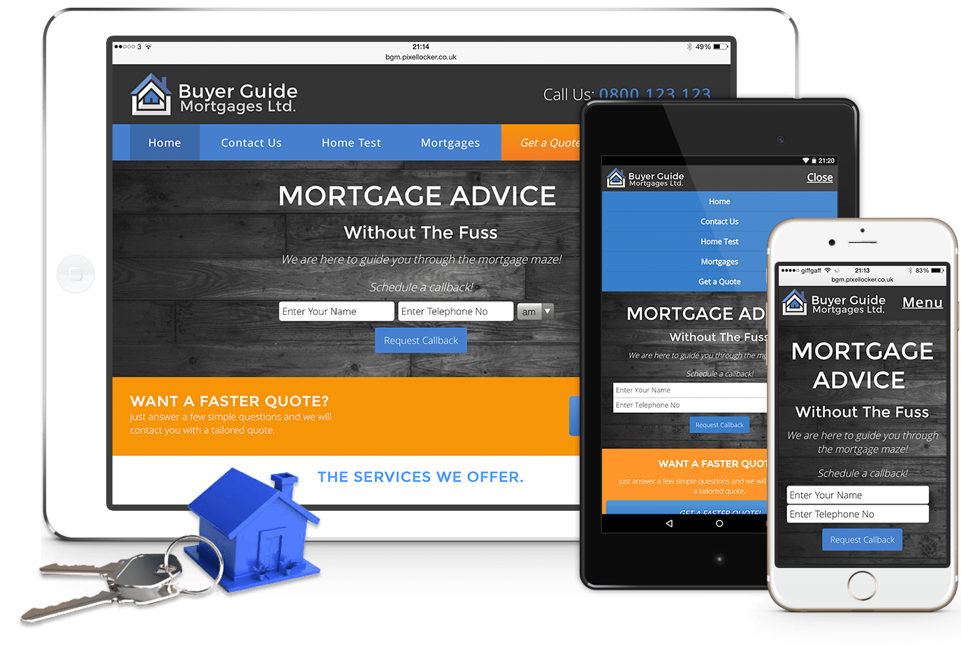 Buyer Guide Mortgages - Designed by Pixel Locker