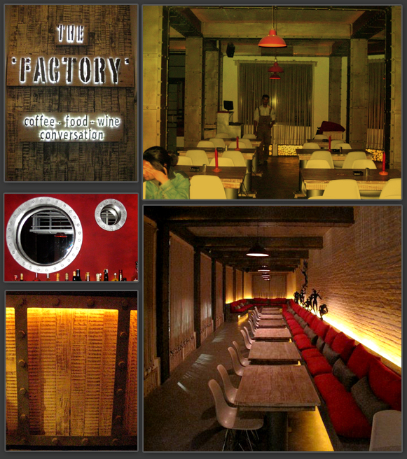 The Factory Restaurant - Website Template Workflow