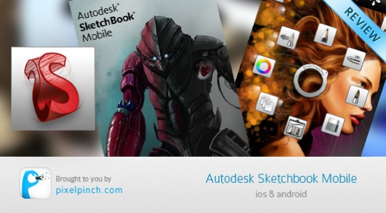 Folder Autodesk SketchBook Mobile   Review